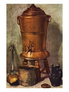 The Water Tank by Jean-Baptiste Simeon Chardin