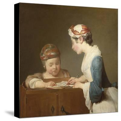 The Young Schoolmistress, 1740