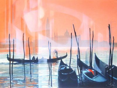 Effet de lumière à Venise II