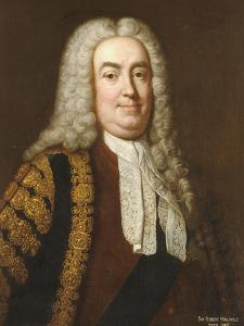 Portrait of Sir Robert Walpole, 1st Earl of Orford (1676-1745) by Jean Baptiste Van Loo