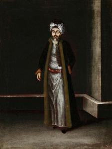 A Jewish Money-Changer by Jean Baptiste Vanmour