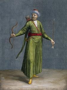 A Tatar of Crimea, Plate 84 by Jean Baptiste Vanmour