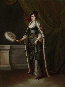 A Turkish Woman, Jean Baptiste Vanmour by Jean Baptiste Vanmour