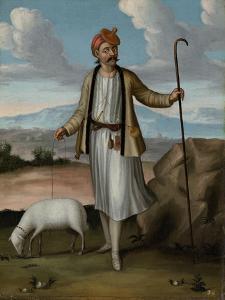 Albanian Herdsman by Jean Baptiste Vanmour