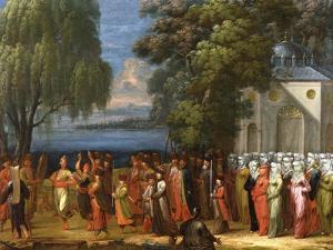 Armemian Wedding, C.1720-37 by Jean Baptiste Vanmour