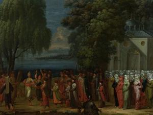 Armenian Wedding by Jean Baptiste Vanmour