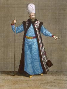 Capidgi-Bachi, Plate 15 by Jean Baptiste Vanmour