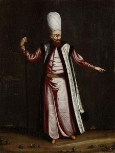 Capoudgi Bachi, Grand-Master of the Seraglio by Jean Baptiste Vanmour