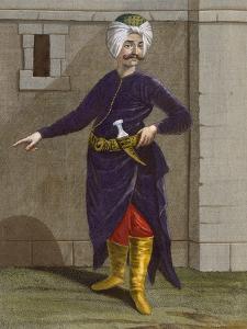 Chatir, Plate 28 by Jean Baptiste Vanmour
