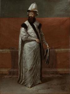 Grand Vizier Nevsehirli Damat Ibrahim Pasa by Jean Baptiste Vanmour