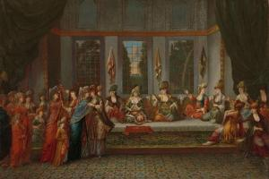 Greek Wedding, c.1720-37 by Jean Baptiste Vanmour