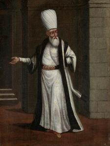 Janissary Aga, Commander-In-Chief of the Janissaries by Jean Baptiste Vanmour
