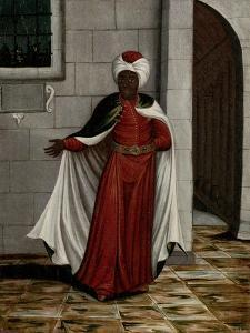 Kislar Aghassi, Chief of the Black Eunuchs of the Sultan by Jean Baptiste Vanmour