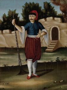 Man from the Albanian Coast by Jean Baptiste Vanmour