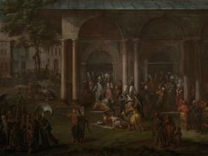 Murder of Patrona Halil and His Fellow Rebels by Jean Baptiste Vanmour