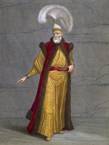 Soulak-Bachi, Plate 16 by Jean Baptiste Vanmour