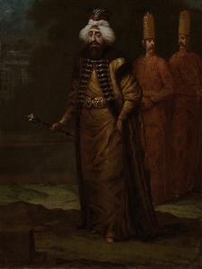 Sultan Ahmed III by Jean Baptiste Vanmour