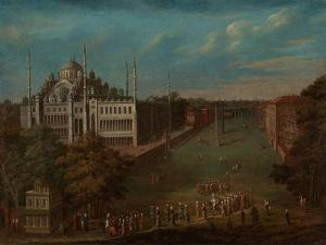 The Grand Vizier Crossing the Atmeydan? , 1720-37 by Jean Baptiste Vanmour
