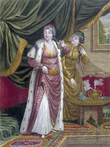 The Sultana Asseki, C.1708 by Jean Baptiste Vanmour
