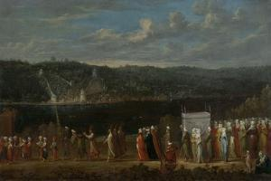 Wedding Procession on the Bosphorus by Jean Baptiste Vanmour