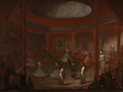 Whirling Dervishes, c.1730