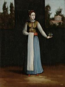 Woman from the Albanian Coast by Jean Baptiste Vanmour