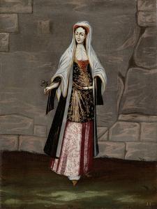 Woman from the Island of Mykonos by Jean Baptiste Vanmour