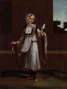 Woman from the Island of Patmos by Jean Baptiste Vanmour