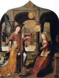 Annunciation, 1516-1517 by Jean Bellegambe