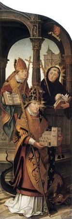Annunciation, 1516-1517 by Jean Bellegambe