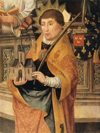 Annunciation (Detail), 1516-1517 by Jean Bellegambe