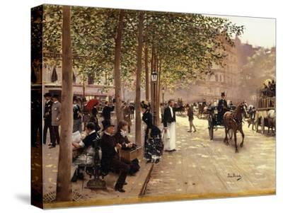 A Paris Street; Une Avenue Parisienne, C.1880