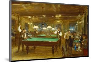 Billiards; Le Billard by Jean Béraud
