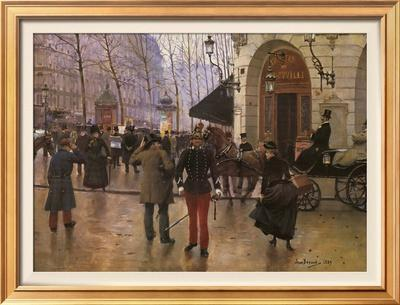 Boulevard des Capucines and The Vaudeville Theatre