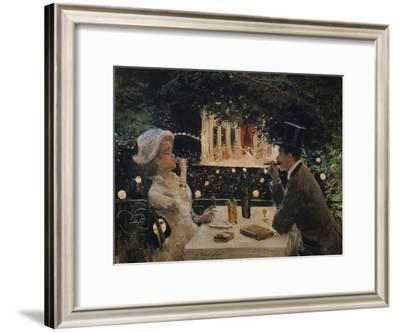 "Dinner at ""The Ambassadors"""