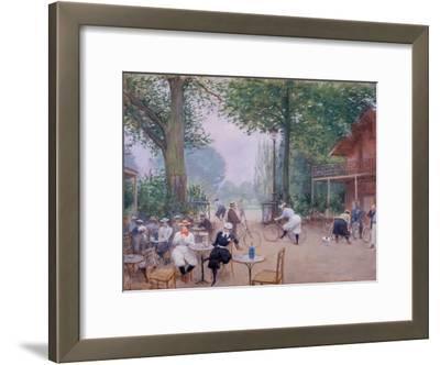 Le Châlet du cycle au Bois de Boulogne