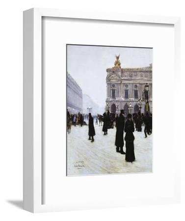 Outside the Opera, Paris, 1879