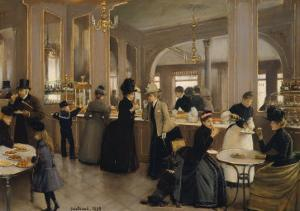 The Pastry Gloppe, 1889 by Jean Béraud