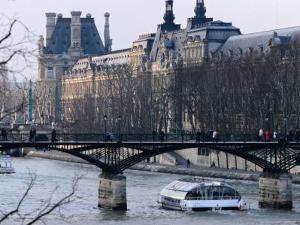 Bateau Mouche on the Seine by Jean-Bernard Carillet
