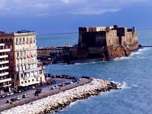 Castel Dell'Ovo, Naples, Italy by Jean-Bernard Carillet