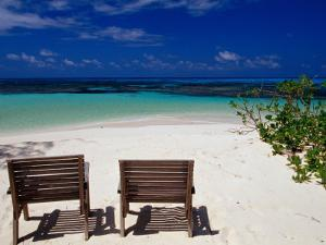 Chairs on Main Beach by Jean-Bernard Carillet