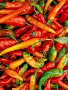 Chillies by Jean-Bernard Carillet