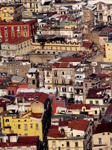 Cityscape from Castel Sant'Elmo, Naples, Italy by Jean-Bernard Carillet