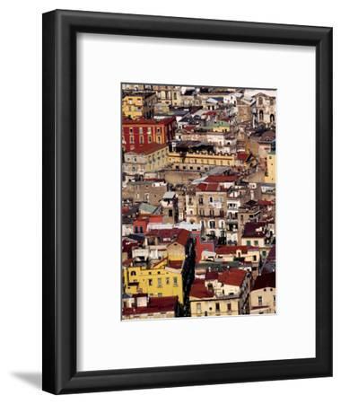 Cityscape from Castel Sant'Elmo, Naples, Italy