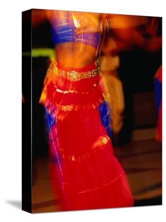 Dancer Performing a Traditional Indian Dance, Port Louis, Port Louis, Mauritius