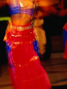 Dancer Performing a Traditional Indian Dance, Port Louis, Port Louis, Mauritius by Jean-Bernard Carillet