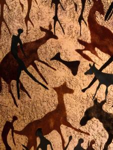 Detail of Batik, Zimbabwe by Jean-Bernard Carillet