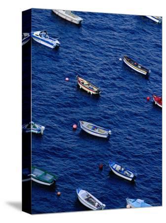 Fishing Boats at Anchor, Cape Sizun, Brittany, France
