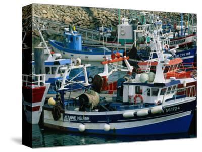 Fishing Boats Docked in the Harbour, La Turballe, Pays De La Loire, France
