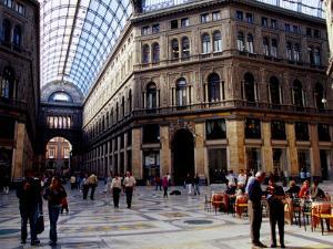Galleria Umberto I, Naples, Italy by Jean-Bernard Carillet